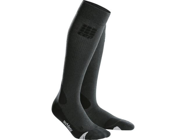 cep Pro+ Outdoor Merino Sukat Miehet, grey/black